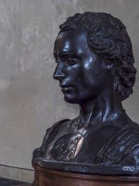 Donatello, Buste de jeune homme néoplatonicien au camée, 1450-1460, Musée du Bargello à Florence Italie