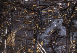 Donatello, Crucifixion, 1453, Musée du Bargello à Florence Italie