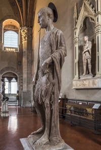 Donatello et Desiderio da Settignano, Saint-Jean-Baptiste dit Martelli, 1440-1457, Musée du Bargello à Florence Italie