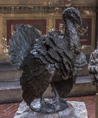 Giambologna, Jean de Boulogne, Dinde, 1567, Musée du Bargello à Florence Italie