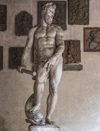Giambologna, Jean de Boulogne, Océan, 1572-1576, Musée du Bargello à Florence Italie
