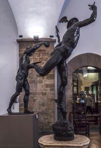 Giambologna, Jean de Boulogne, Mercure Volant et Bacchus, 1578-1580 et 1560, Musée du Bargello à Florence Italie