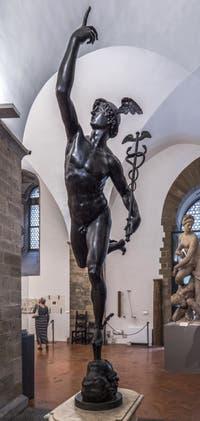 Giambologna, Jean de Boulogne, Mercure Volant, 1578-1580, Musée du Bargello à Florence Italie