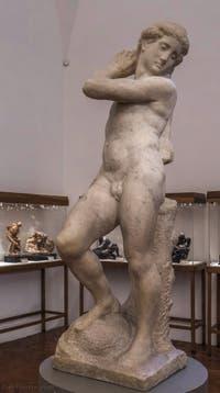Michel-Ange Buonarroti, David Apollon, 1530-1532, Musée du Bargello à Florence Italie