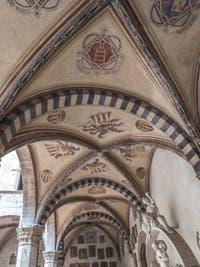Fresques du Musée Bargello à Florence Italie