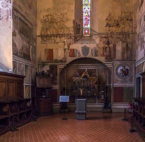 Chapelle du Musée Bargello à Florence Italie