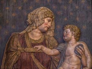 Sansovino Jacopo Tatti, Vierge à l'Enfant, 1550, Musée du Bargello à Florence Italie