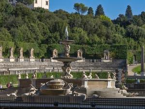 Le Jardin Boboli du Palais Pitti