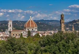 Le Jardin Boboli du Palais Pitti, XVIe siècle, à Florence en Italie