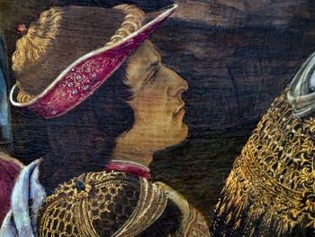 Botticelli, Adoration des Mages, 1475-1477, Galerie Offices Uffizi, Florence Italie