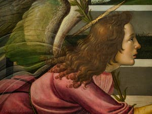 Sandro Botticelli, Annonciation de Cestello, 1489, Galerie Offices Uffizi, Florence Italie