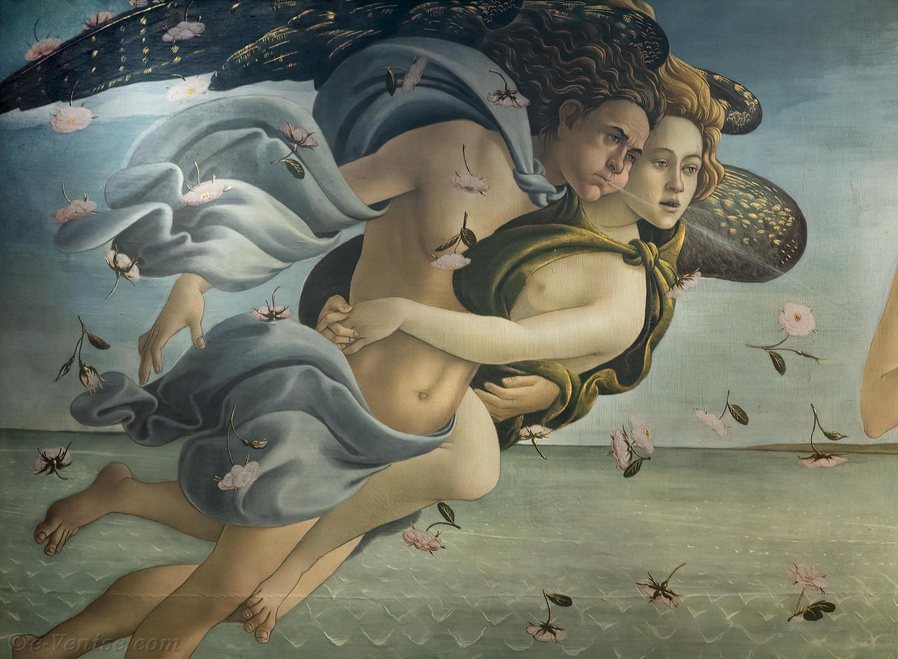 La Naissance De Venus Botticelli Offices Uffizi Florence