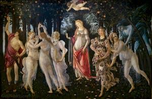 Botticelli, Le Printemps
