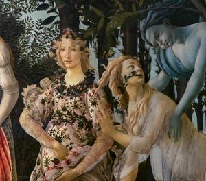 Sandro Botticelli, Le Printemps, 1481-1482, Galerie Offices Uffizi, Florence Italie