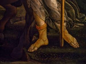 Sandro Botticelli, Pallas et le Centaure, 1482, Galerie Offices Uffizi, Florence Italie