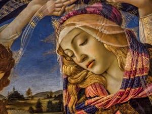 Botticelli, La Vierge en trône, Magnificat