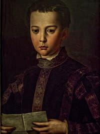 Bronzino, Portrait de Francesco I de Médicis, 1551, Galerie Offices Uffizi, Florence Italie