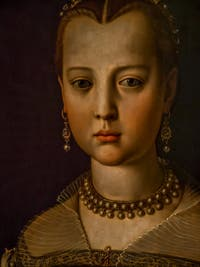 Bronzino, Portrait de Marie de Médicis, 1551, Galerie Offices Uffizi, Florence Italie