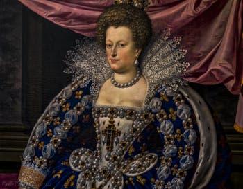 Franz Pourbus le Jeune, Marie de Médicis, 1613, Galerie Offices Uffizi, Florence Italie