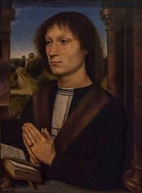 Hans Memling, portrait de Benedetto Portinari, 1487, à la Galerie des Offices, les Uffizi à Florence en Italie