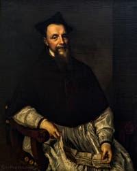 Le Titien, Portrait de l'evêque Ludovico Beccadelli, 1552, Galerie Offices Uffizi, Florence Italie