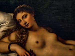 Le Titien, Vénus d'Urbino, 1538, Galerie Offices Uffizi, Florence Italie