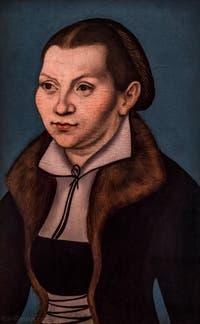 Lukas Cranach le Vieux, Katharina Von Bora, épouse de Martin Luther, 1529, à la Galerie des Offices, les Uffizi à Florence en Italie