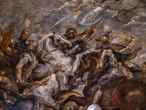 Pierre Paul Rubens, Le roi Henry IV à la bataille d'Ivry, 1627-1630, Galerie Offices Uffizi, Florence Italie
