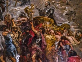 Pierre Paul Rubens, Entrée triomphale du roi Henry IV à Paris, 1627-1630, Galerie Offices Uffizi, Florence Italie