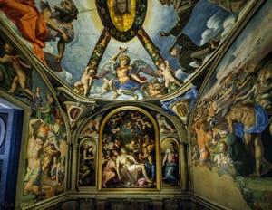 Bronzino, Chapelle Eléonore de Tolède, Palazzo Vecchio, Florence Italie