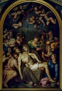Bronzino, La déposition du Christ, 1545-1553, Chapelle Eléonore de Tolède, Palazzo Vecchio, Florence Italie