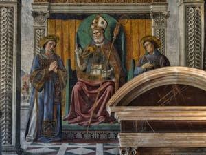 Domenico Ghirlandaio, Saint-Zenobe Salle des Gigli, des Lys, 1482-1485, du Palazzo Vecchio à Florence Italie