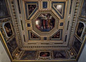 Giorgio Vasari, Giovanni Stradano, Salle Gualdrada, 1561-1562, Pallazzo Vecchio à Florence Italie