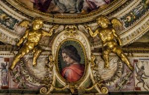 Giorgio Vasari, Marco da Faenza, fresques salle Laurent le Magnifique, 1556-1588, Palazzo Vecchio, Florence Italie