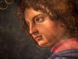 Giorgio Vasari, Portrait de Giovanni de Médicis, salle Cosme l'Ancien au Palazzo Vecchio à Florence en Italie.