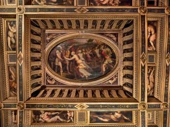 Giorgio Vasari, Salle des Sabines au Palazzo Vecchio à Florence en Italie.