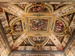 Giorgio Vasari, Salle Laurent de Médicis le Magnifique au Palazzo Vecchio à Florence en Italie.
