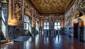 Benedetto et Giuliano da Maiano, 1472-1475, Salle des Audiences du Palazzo Vecchio, Florence Italie