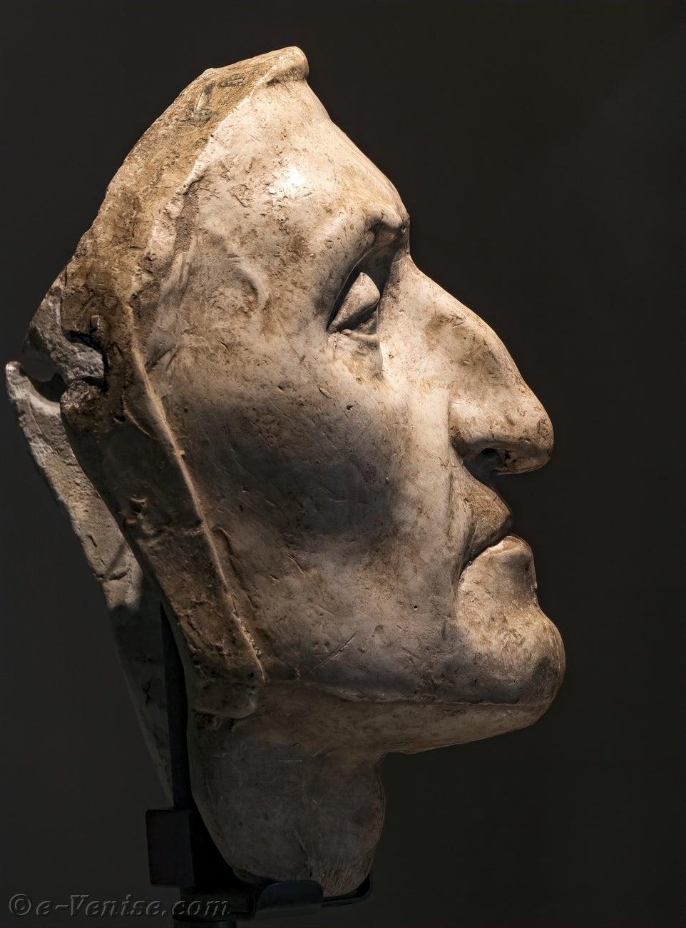 recherche d'authentique 2019 original 2019 professionnel Masque funèbre de Dante Alighieri Palazzo Vecchio Florence ...