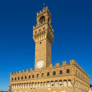 La tour Arnolfo du Palazzo Vecchio à Florence en Italie