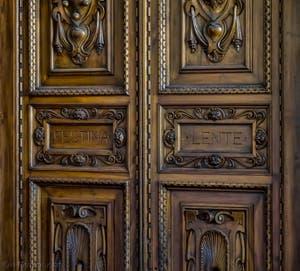 Intérieur du Palazzo Vecchio à Florence en Italie