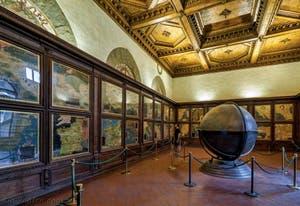 Dionigi Nigetti, Egnazio Danti, Stefano Buonsignori, Salle des Cartes Géographiques, 1581, Palazzo Vecchio, Florence Italie