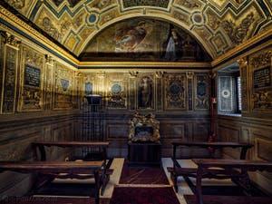 Domenico Ghirlandaio, Chapelle des Prieurs, 1511-1514, Palazzo Vecchio, Florence Italie