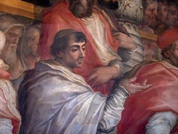 Giorgio Vasari, Élection d'un nouveau collège de cardinaux par le pape Léon X, Palazzo Vecchio à Florence en Italie