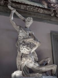 Vincenzo de Rossi, Hercule et Cacus, salle des Cinq-Cents du Palazzo Vecchio à Florence en Italie