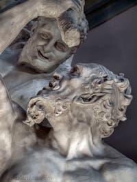 Vincenzo de Rossi, Hercule tue le Centaure Nessos, salle des Cinq-Cents du Palazzo Vecchio à Florence en Italie