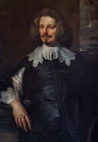 Antoine Van Dyck, Portrait d'un homme, 1635-1638, Galerie Palatina Pitti, Florence Italie