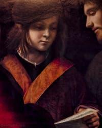 Giorgione, Les trois états de l'homme, 1506-1507, Galerie Palatina Pitti, Florence Italie