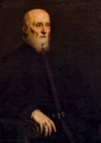 Le Tintoret, Jacopo Robusti, Portrait d'Alvise Luigi Cornaro, 1565, galerie Palatina Pitti, Florence Italie