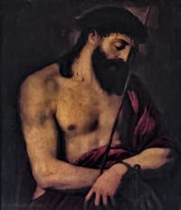 Le Titien, Tiziano Vecellio, Ecce Homo, XVIe siècle, Galerie Palatina Pitti, Florence Italie